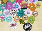 Novità Fantasy flower colors Doodle flowers