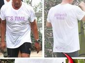 Arnold Schwarzenegger offende moglie maglietta molto diretta