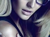 CAMPAIGN Candice Swanepoel Versace eyewear fall 2011