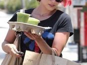 Glee: Dianna Agron capelli rosa!
