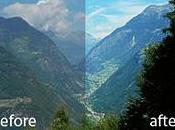 Migliorare paesaggi Photoshop