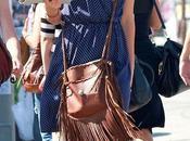 Olivia Wilde pazza borsa frange Ralph Lauren
