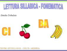 Insegnare leggere metodo sillabico fonematico: album scaricare