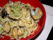 Spaghetti alle vongole pesto mandorle