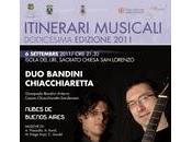 Itinerari Musicali Isola Liri, Arpino Sora. Santopadre l'Estate terminare