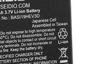 Batteria Battery potenziata 1900 senza cover maggiorata!