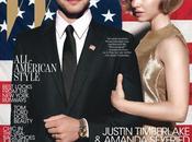 JUSTIN TIMBERLAKE AMANDA SEYFRIED copertina Magazine