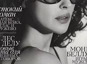 Monica Bellucci Dolce Gabbana suElle Russia ottobre 2011