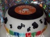 DiscoDance cake