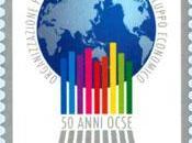 Francobollo celebrativo dell'Organizzazione Cooperazione Sviluppo Economico (OCSE)