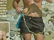 Raoul Bova allena petto nudo: essere flaccido lavorare Placido
