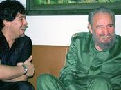 Argentina, maradona cuba amico fidel castro entro mese