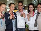 Fabrizio Palenzona,Oro Mondiali, nazionale femminile ginnastica ritmica sbarca Leonardo Vinci (ADR)