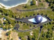 villa visibile dallo spazio Naomi