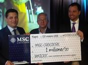 consegna UNICEF milione euro