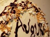 Semplice torta compleanno Cocco-Nutella