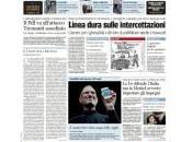 prime pagine quotidiani italiani ottobre 2011