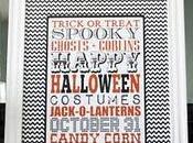 Halloween incorniciare