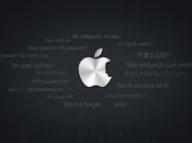 Wallpaper iPad dedicato Steve Jobs
