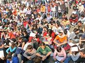 ottobre 2011, giorno dell'indignazione globale. Dalle diretta streaming della manifestazione Roma