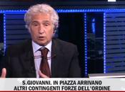 attacca Corradino Mineo RaiNews24 diretta della manifestazione Roma