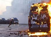 WEEK-END Roma: fuoco proteste