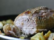 Rollè pollo patate forno