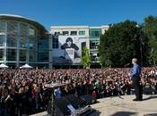 """Riprese aeree dello """"Steve Jobs Celebration"""" campus! (Video)"""