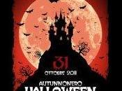 Speciale halloween. autunno nero halloween fright night