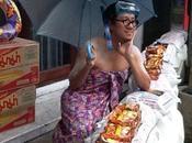 Bangkok Thailandia foto simpatiche dell'alluvione