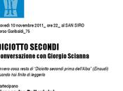 DICIOTTO SECONDI, conversazione Giorgio Scianna (Con Piersandro Pallavicini Angelo Ricci)