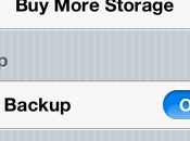 [Guida] Backup manuale dell'iDevice iCloud