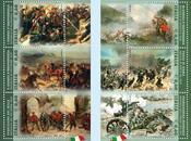 Fatti d'Arme francobolli celebrativi 150° dell'Unità d'Italia