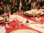 Come apparecchiare decorare tavola Natale tovaglia