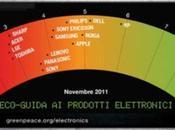 Greenpeace voti alle aziende elettroniche, green tutte
