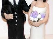 Work progress cake topper matrimonio personalizzato