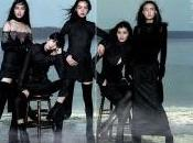 BLACK BLACK... Tao, Liu, Ming, Peter Lindbergh Vogue China September 2010