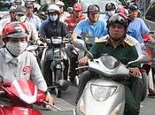 Traffico complesso Saigon, Vietnam