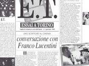 scrittore cinema. Conversazione Franco Lucentini