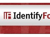 Vuoi scoprire fonts testo? ecco IdentifyFonts