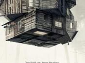 Accattivante primissimo poster ufficiale l'horror Cabin Woods