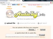 Volete sapere informazioni canzone ecco.... AudioTag.info
