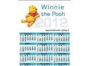 Calendario 2012 Winnie Pooh