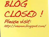 blog chiude