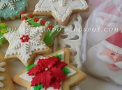 Biscotti decorati pasta zucchero ghiaccia reale