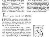 perfetto Default. 1929, strana storia della Mississippi Company John Banque Royale