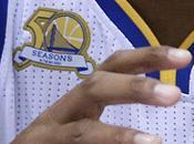 Basket, Nba: ecco nuovo patch Golden State. Celebra stagioni nella Baia Francisco