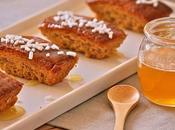 Mini cakes banana miele