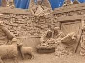 Sand Nativity presepe sabbia Jesolo