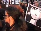 Donne piazza Cairo contro violenza